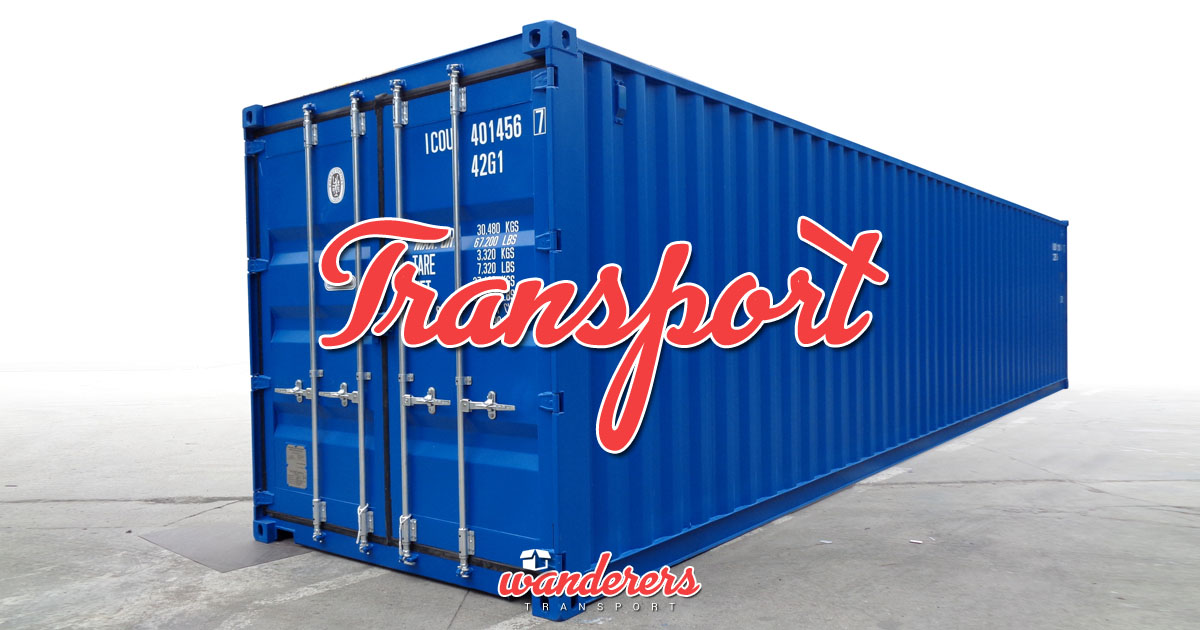 Container Transport - UK Spain Portugal - Wanderers Transport OG02