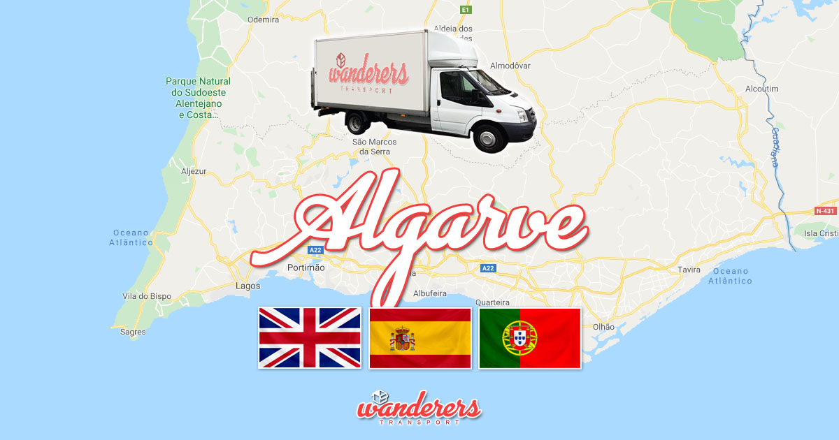 Algarve Depot Removals Storage Wanderers Transport OG02