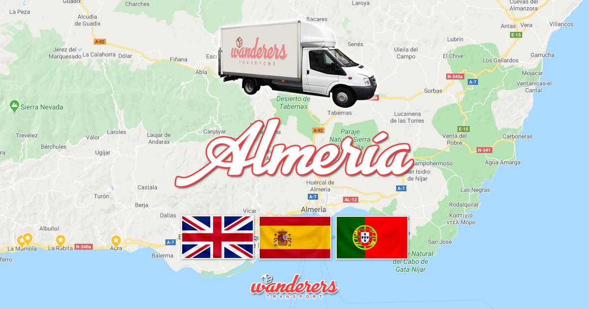 Almeria Depot Removals Storage Wanderers Transport OG03