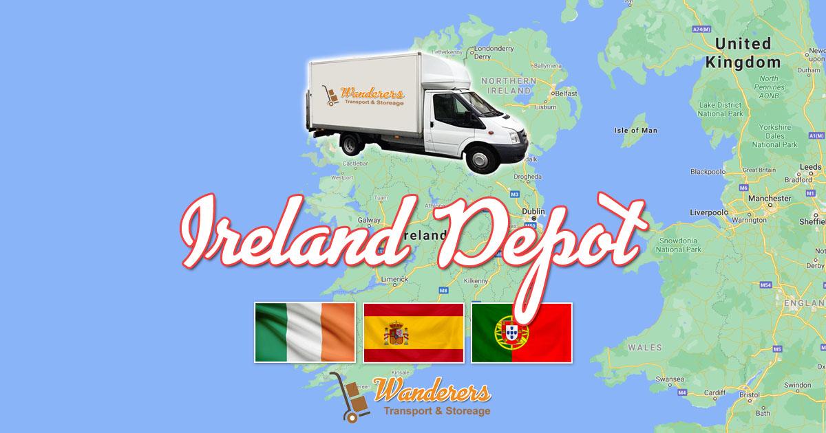 Dublin Ireland Depot - Removals, Transport & Storage, WanderersTransport